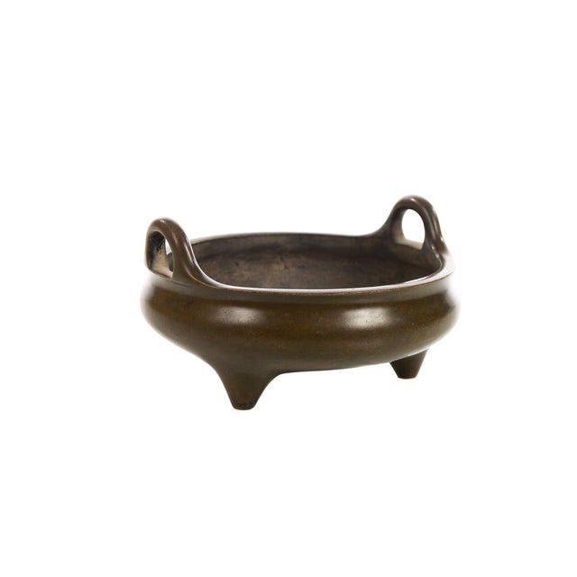 Chinese Patinated Bronze Censer - Image 5 of 7