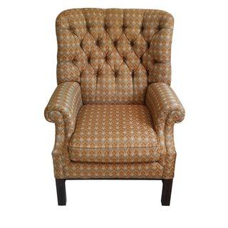 Henredon Barrel Back Wing Chair