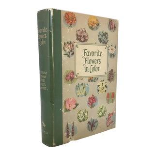 """Favorite Flowers in Color"" 1949 Book"