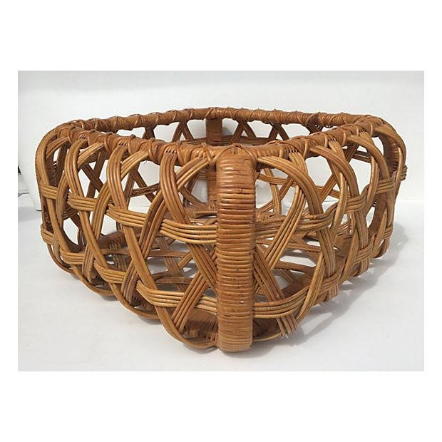 Danny Ho Fong for Tropi Cal Rattan Coffee Table - Image 5 of 7