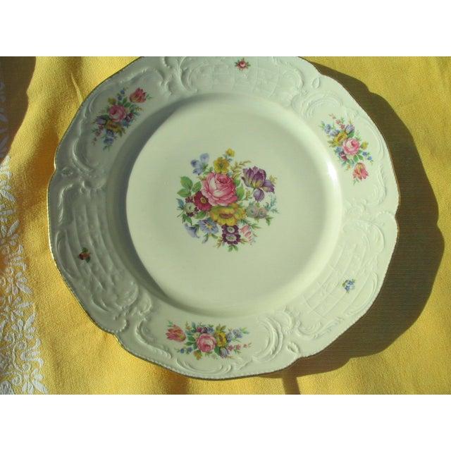 Rosenthal Sanssouci Floral Chop Plate - Image 5 of 5