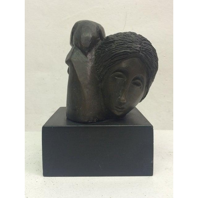 "Sunol Alvar Sculpture ""Mujer Con Paloma II"" - Image 2 of 6"