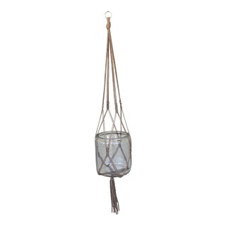 Knotty Jute Macrame Plant Holder