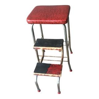 Vintage Cosco Folding Step Stool