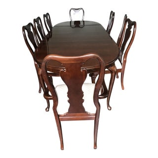 Thomasville Collector's Cherry Dining Set