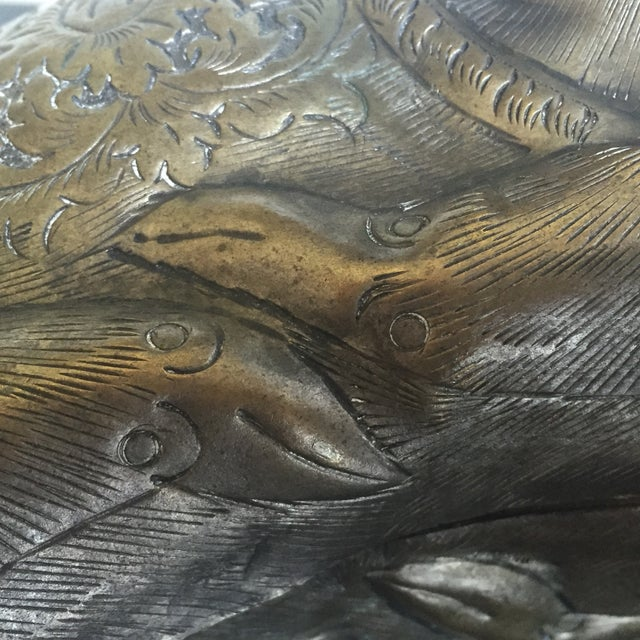 Image of Antique Silver Cambodian Deer Box