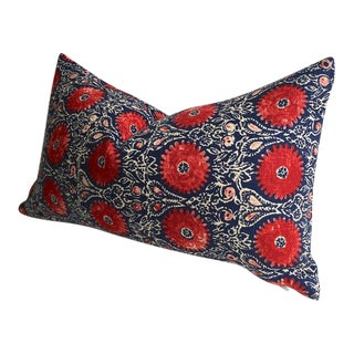 Ruby Indigo India Block Print Pillow Cover