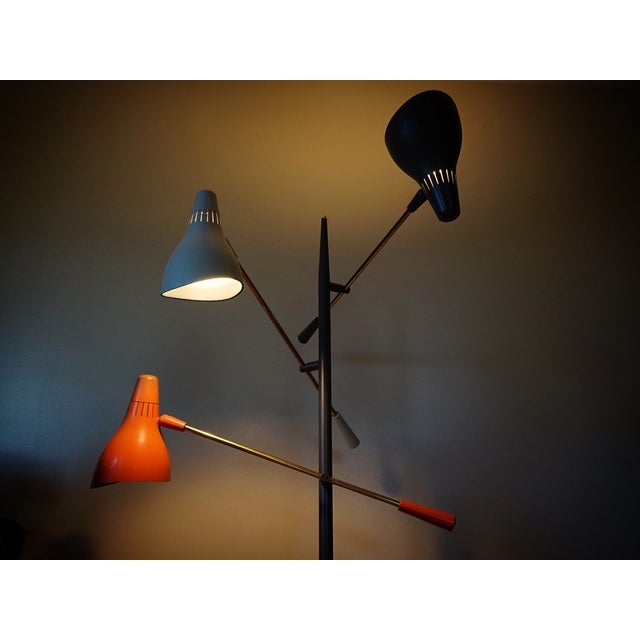 Image of Gerald Thurston Triple Arm Floor Lamp
