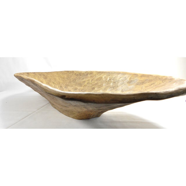 Rustic Vintage Dough Bowl - Image 9 of 11