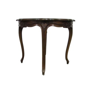 Carved Round Antique Table