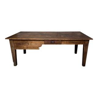 19th C. French Farm Table