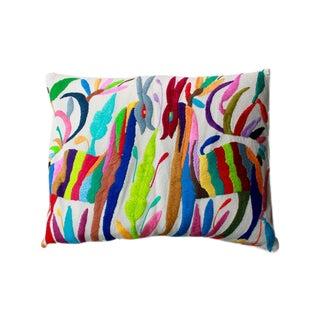 Colorful Tenango Pillows - Pair