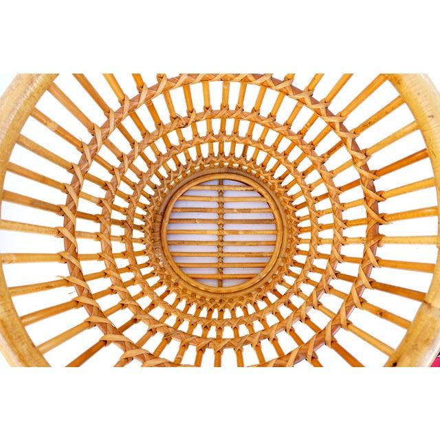 Image of Franco Albini Mid-Century Rattan Basket