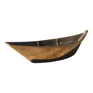 Wilcox Crittenden Brass Boat Paperweight