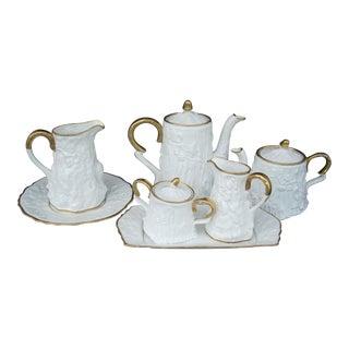 Royal Stafford Tea & Coffee Service - 7 Pieces