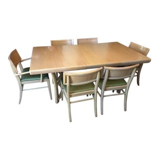 Mid-Century Sandalwood Dining Set