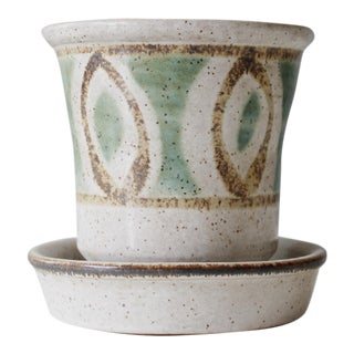 Vintage Mid-Century Pottery Craft Ceramic Planter