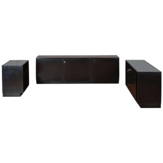 Set of Three Cupboards by Osvaldo Borsani for Tecno