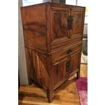 Image of Antique Chinese 2 Piece Dragon Cabinet
