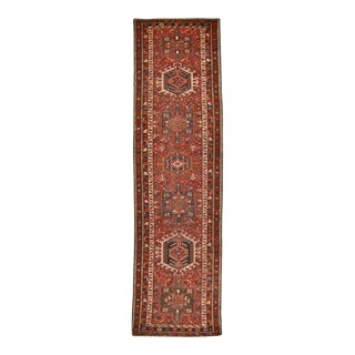 Surena Rugs Antique Handmade Persian Karajeh Runner - 3' x 11' 3''