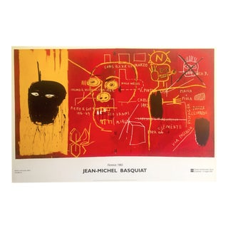 """Florence, 1983"" Jean Michel Basquiat Offset Lithograph"