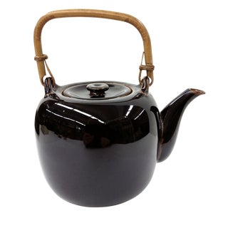 Hand Thrown Artist Glazed Teapot