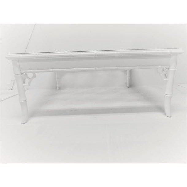 Baker Chinese Chippendale Cocktail Table - Image 3 of 5