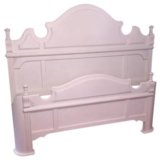 White King Size Bed Frame
