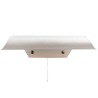 French Perforated Wall Light by Lunel