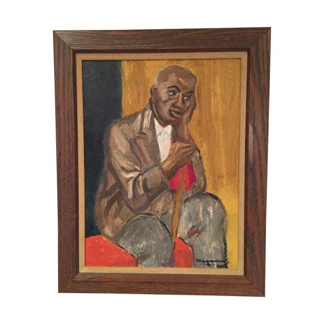 Mid Century Gentleman Portrait - Image 1 of 4