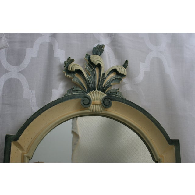 Vintage Country French La Barge Wood Framed Mirror - Image 3 of 6