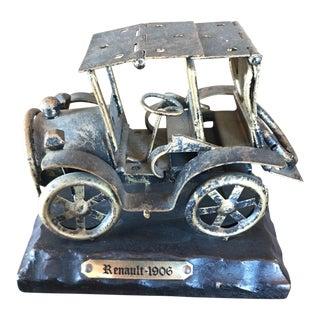 Vintage Renault Car Figurine