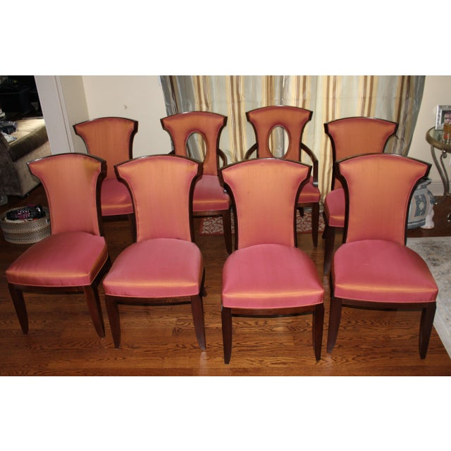 Barbara Barry Realized by Henredon Chairs - Set of 8 - Image 2 of 9