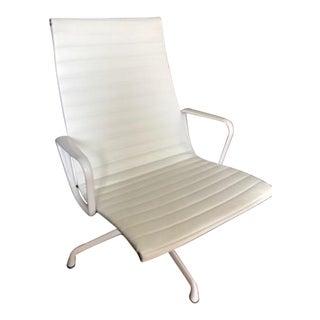 White Aluminum Eames Chair