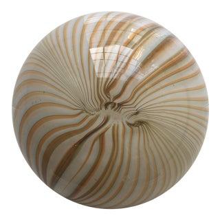 Italian Swirl Glass Paperweight
