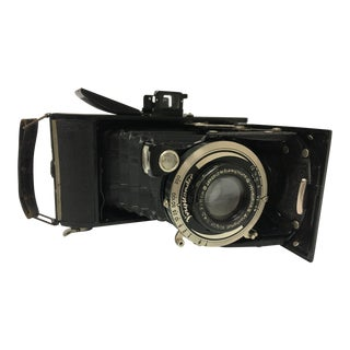 German Voigtlander Bessa Compur Folding Camera