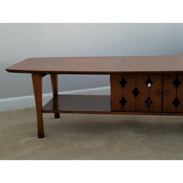 Henredon Vintage Walnut Coffee Table