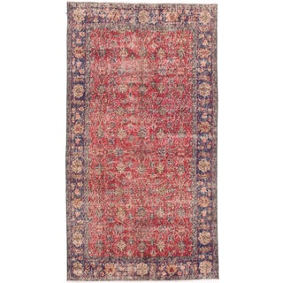 "Vintage Turkish Anadol Rug - 3'9"" x 6'9"""