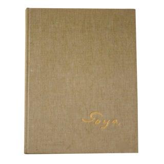 1964, Goya by Jose Gudiol Book