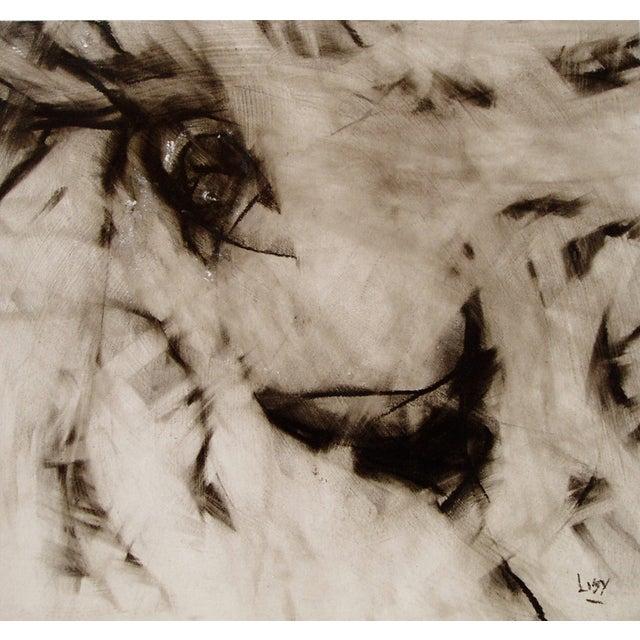"Image of ""Liberty Slipped"" Original Drawing"