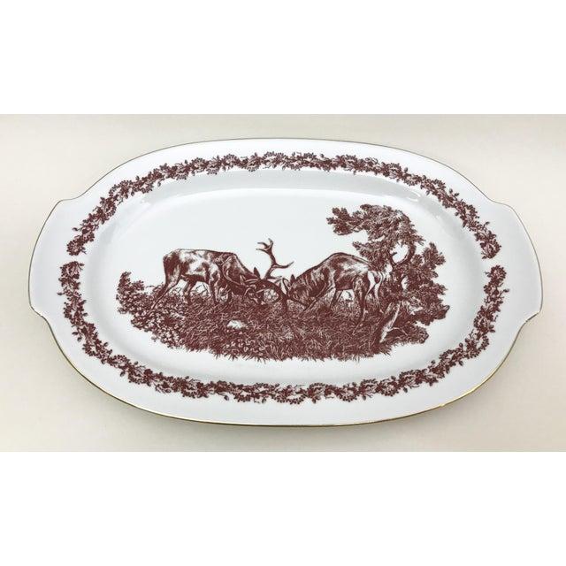 Black Forrest Theme Jlmenau Graf Von Henneberg Dinnerware - 22 Pieces - Image 9 of 11