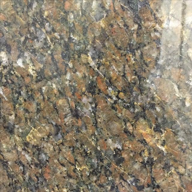 "Beveled Black Granite 48"" Round - Image 4 of 8"