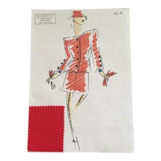 Givenchy Croquis Fashion Sketch