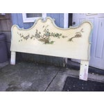 Image of Asian Style Hand Painted King Headboard