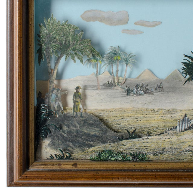 Napoleon Egypt Expedition 3D Paper Shadowbox Diorama - Image 5 of 5