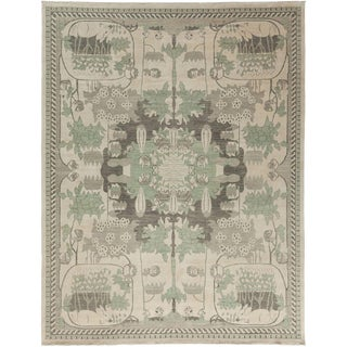 "Shalimar, Hand Knotted Area Rug - 9' 1"" x 11' 9"""