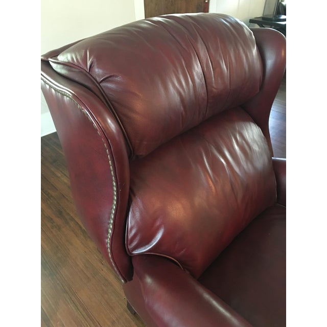 Hancock Amp Moore Addison Bustle Back Ball Amp Claw Recliner