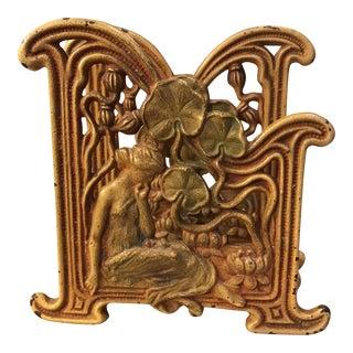 Art Nouveau Letter Holder