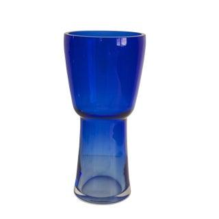 Mid Century Cobalt Blue Vase