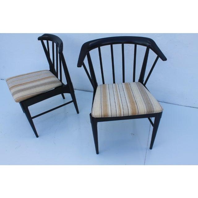Hans Wegner Style Dining Chairs Set Of 4 Chairish